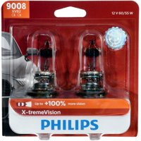 Philips X-Tremevision Headlight 9008, P26,4T, Clear, Always Change In Pairs!