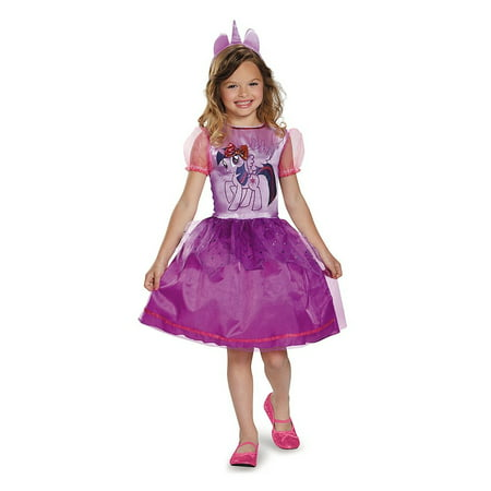 My Little Pony Twilight Sparkle Classic Child Costume - Little Kid Costume For Adults