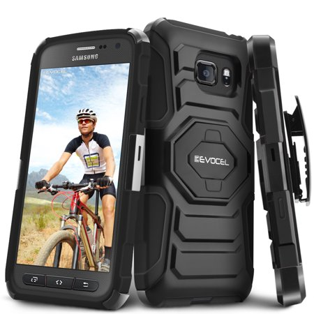 Galaxy S7 Active Case, Evocel [Belt Clip Holster] [Kickstand] [Dual Layer] New Generation Phone Case for Samsung Galaxy S7 Active (SM-G891),