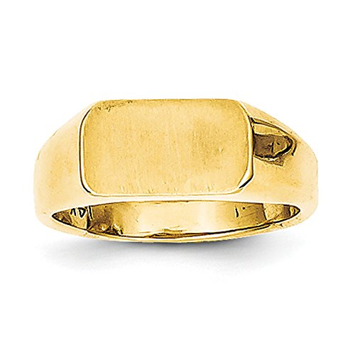 Baby and Children 14K Gold Signet Ring (yellow-gold)