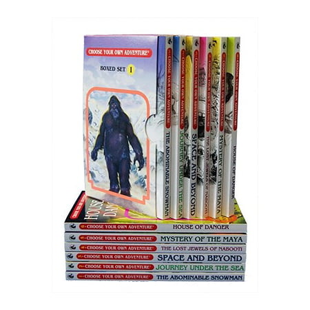 Box Set #6-1 Choose Your Own Adventure Books 1-6: : Box Set Containing: The Abominable Snowman, Journey Under the Sea, Space and Beyond, the Lost Jewels of Nabooti, Mystery of the Maya, House of Danger ()