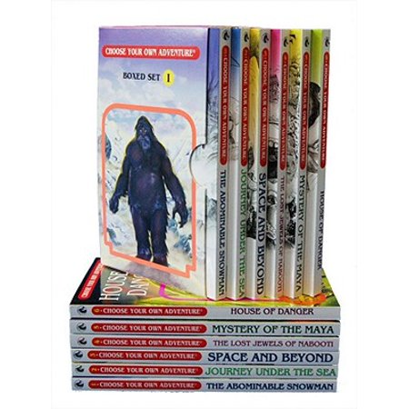 Box Spare (Box Set #6-1 Choose Your Own Adventure Books 1-6: : Box Set Containing: The Abominable Snowman, Journey Under the Sea, Space and Beyond, the Lost Jewels of Nabooti, Mystery of the Maya, House of Danger )
