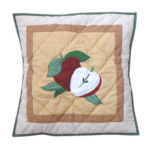 """Patch Magic Festive Fruit Toss Pillow 16""""X 16"""""""