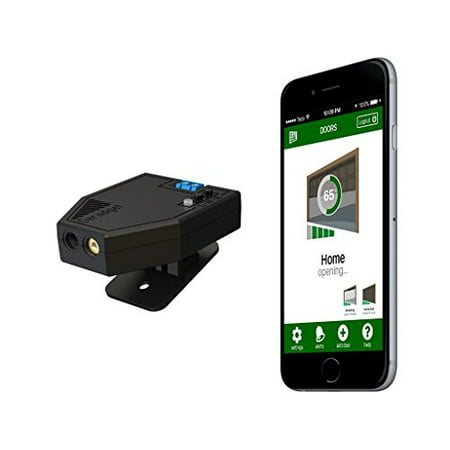 Garadget - Remotely Control and Monitor Your Existing Garage Door With Smartphone, Voice, Home Automation and Other Devices (Garage Open Door Monitor)