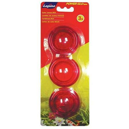 Laguna PT1552 Power-Glo Mini Lens Set, Red