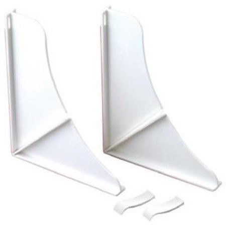 5PK White, Shower Splash Guards, Keep Bathroom Floors Safe & (Shower Water Guard)