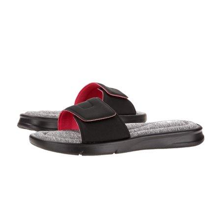 791e9456f Athletic Works Women s Memory Foam Slide Sandal - Best Womens Sandals