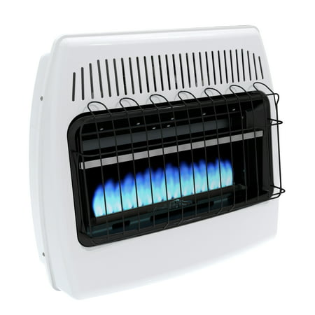 Dyna-Glo 30,000 BTU Natural Gas Blue Flame Vent Free Wall Heater