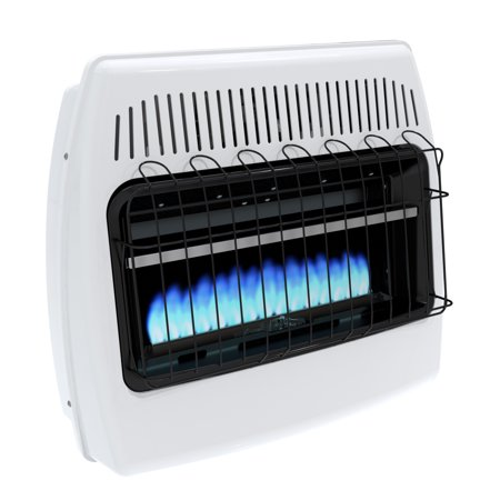 30000 Natural - Dyna-Glo 30,000 BTU Natural Gas Blue Flame Vent Free Wall Heater