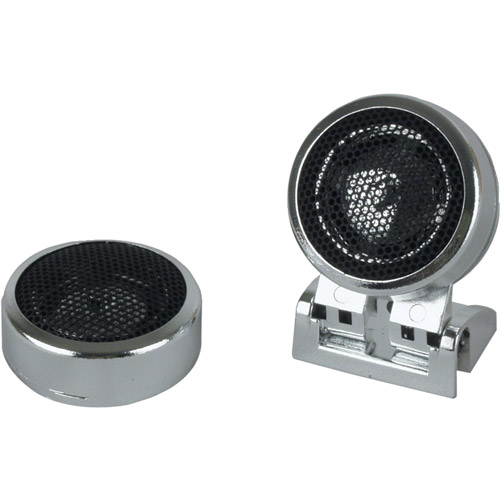 Boss Audio Audio TW20 Bullet and Dome Tweeters, Car Speakers (Pair of Speakers)