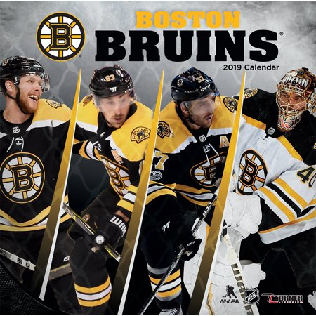 2019 12X12 TEAM WALL CALENDAR, BOSTON BRUINS (Boston Bruin)