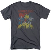 Jla - Worlds Best - Short Sleeve Shirt - XXXX-Large