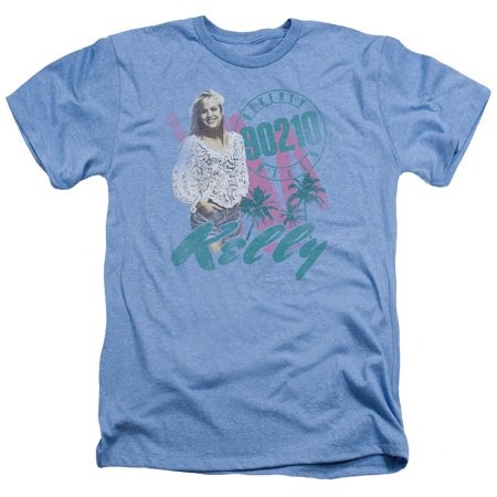 90210 Beverly Hills Cw Tv Series Kelly Vintage Adult Heather T Shirt Tee