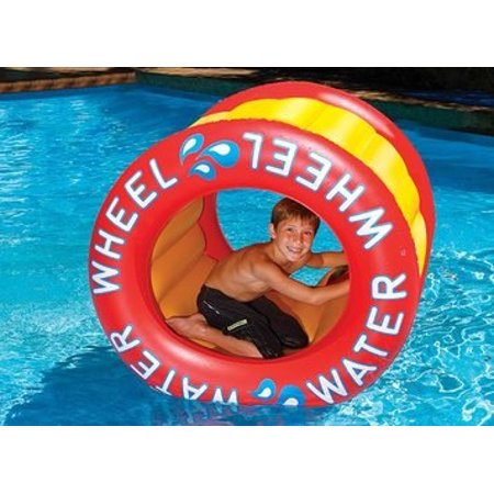 The Inflatable Water Wheel Water Float Toy for Swimming Pool & Beach - Inflatable Water Toys