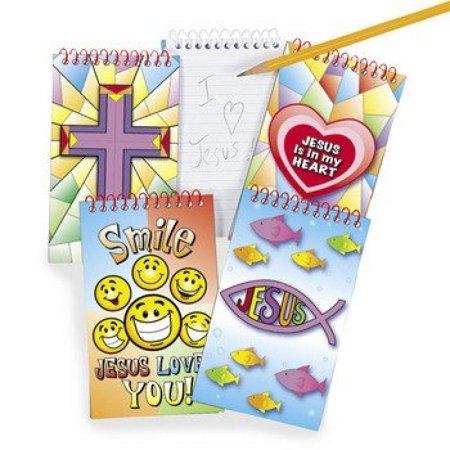 Sunday School Craft (Religious Spiral Notepads - Sunday School &)