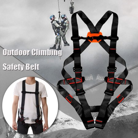 1764LB Full Body Rock Climbing Rappelling Harness Rescue Seat Safety Belt Downhill Equipment For Mountaineering Outward Band Fire Rescue Working Caving Rock Climbing Women (Best Women's Climbing Harness)