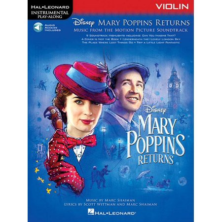 Mary Poppins Returns for Violin: Instrumental Play-Along Series (Other)