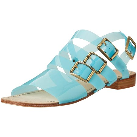 Madison Harding Ursula Womens Blue Sandals