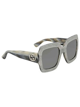 5ccdfe66003 Product Image Gucci Fashion Inspired Grey Square Ladies Sunglasses  GG0048S-001 54