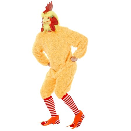 Halloween Rocking Rooster - Plus Adult Costume