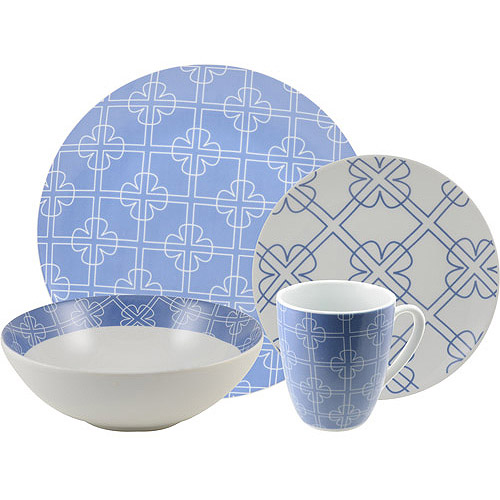 TEN Collection by 10 Strawberry Street Chloe 16-Piece Dinnerware Set