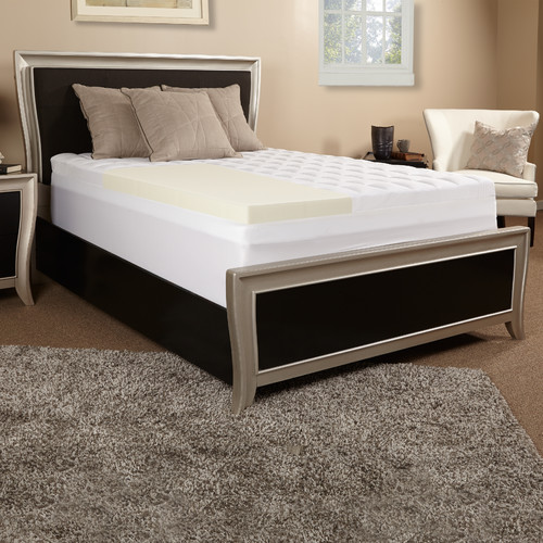 Luxury Solutions 3.5'' Memory Foam Mattress Topper