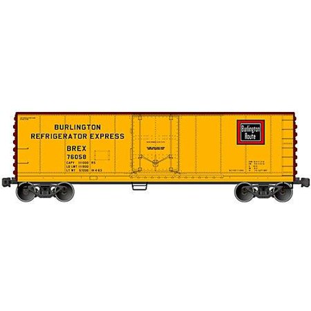 Accurail 8502 HO KIT 40' Plug Door Steel Reefer, BREX