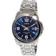 Men's Core MTP1314D-2AV Blue Stainless-Steel Quartz Fashion Watch
