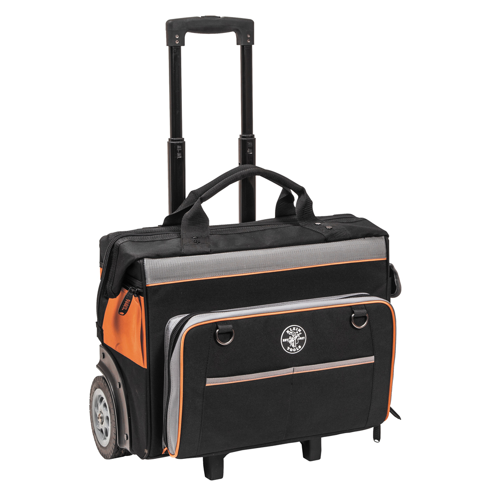The Amazing Quality Klein Tools Tradesman Pro Organizer Rolling Tool Bag by
