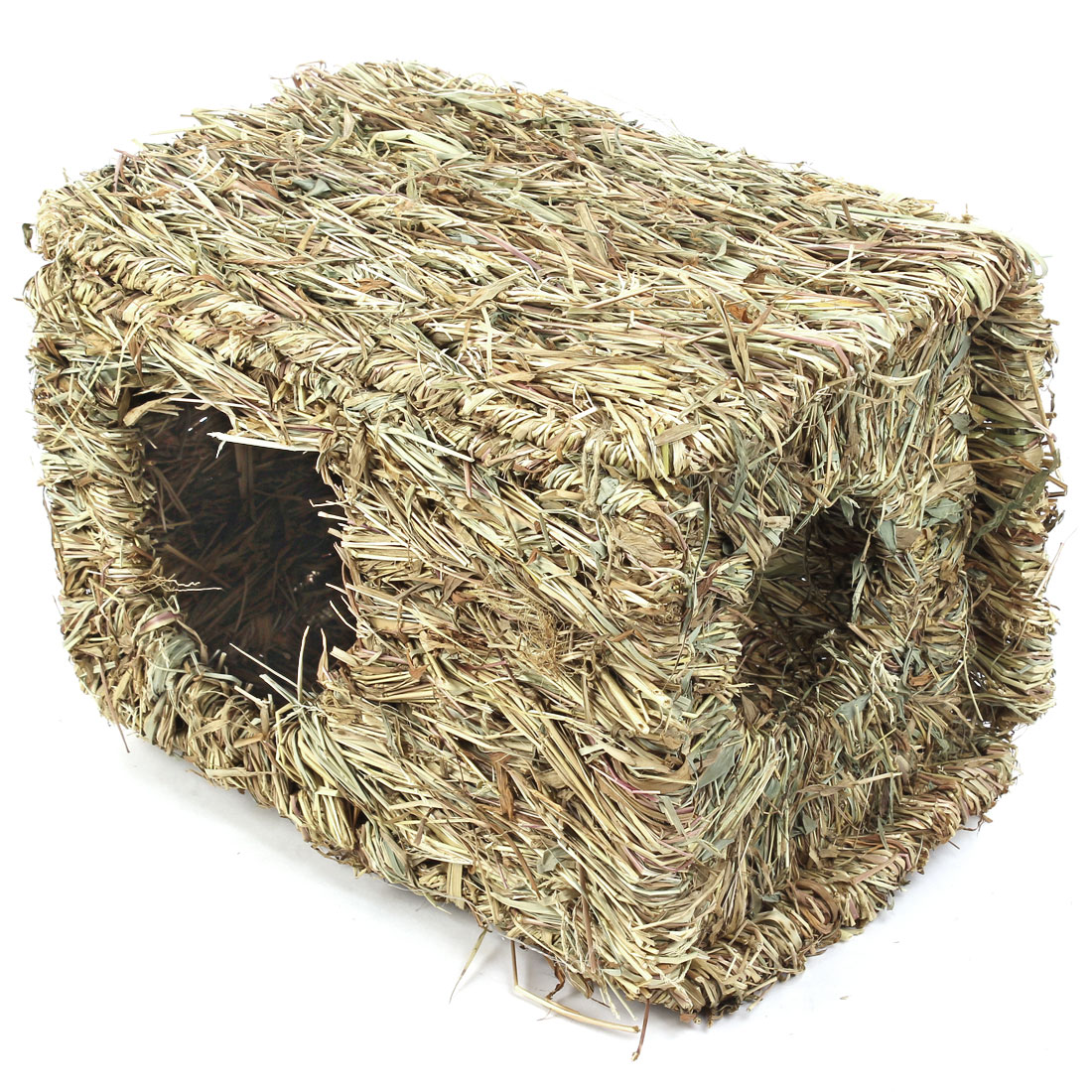 Artificial Straw Knitted Woven Small Pet Animals Hamster Nest House Home Cage by