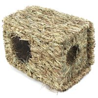 Artificial Straw Knitted Woven Small Pet Animals Hamster Nest House Home Cage
