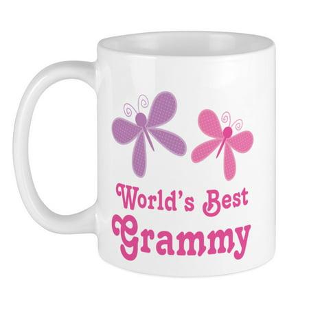 CafePress - Best Grammy Butterfly Mug - Unique Coffee Mug, Coffee Cup