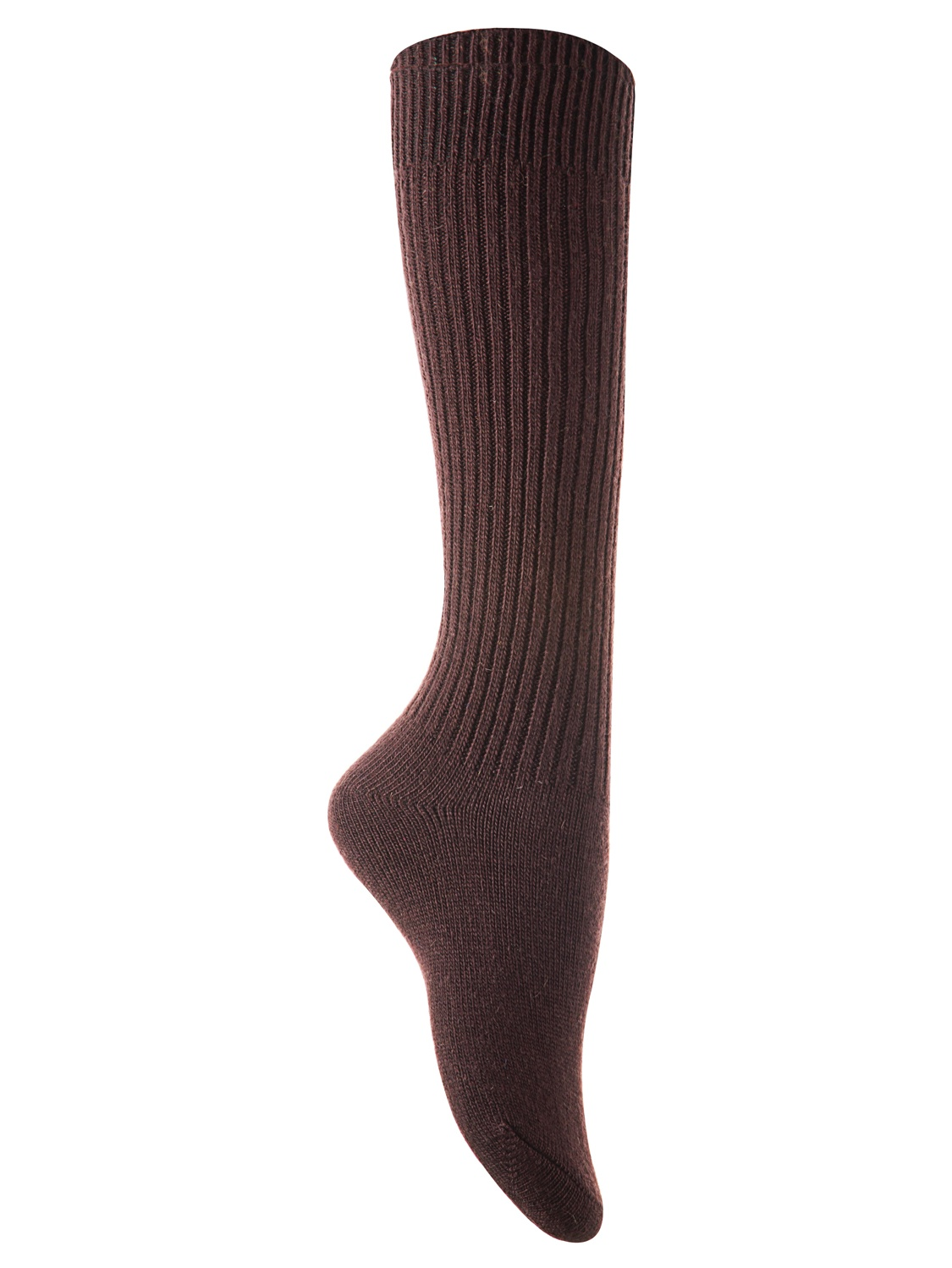 Lian Style Big Girl's 2 Pairs Knee-high Knitted Wool Socks Stripped FS05 Size L/XL(Yellow)