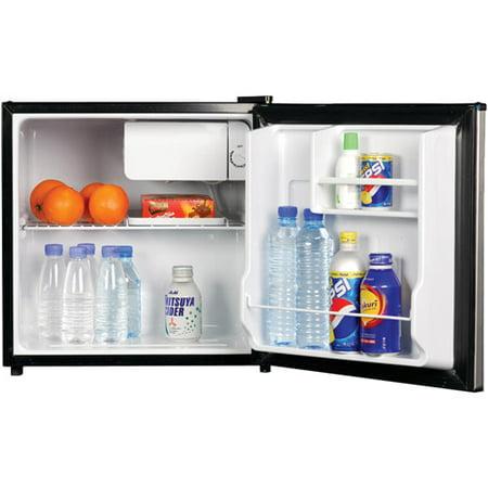 . Magic Chef 1 7 cu ft Refrigerator  Black
