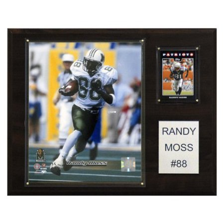 C & I Collectables 1215RMOSSC NCAA Football Randy Moss Marshall Thundering Herd Player Plaque
