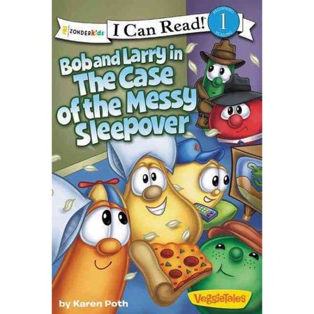 Bob and Larry in the Case of the Messy Sleepover by