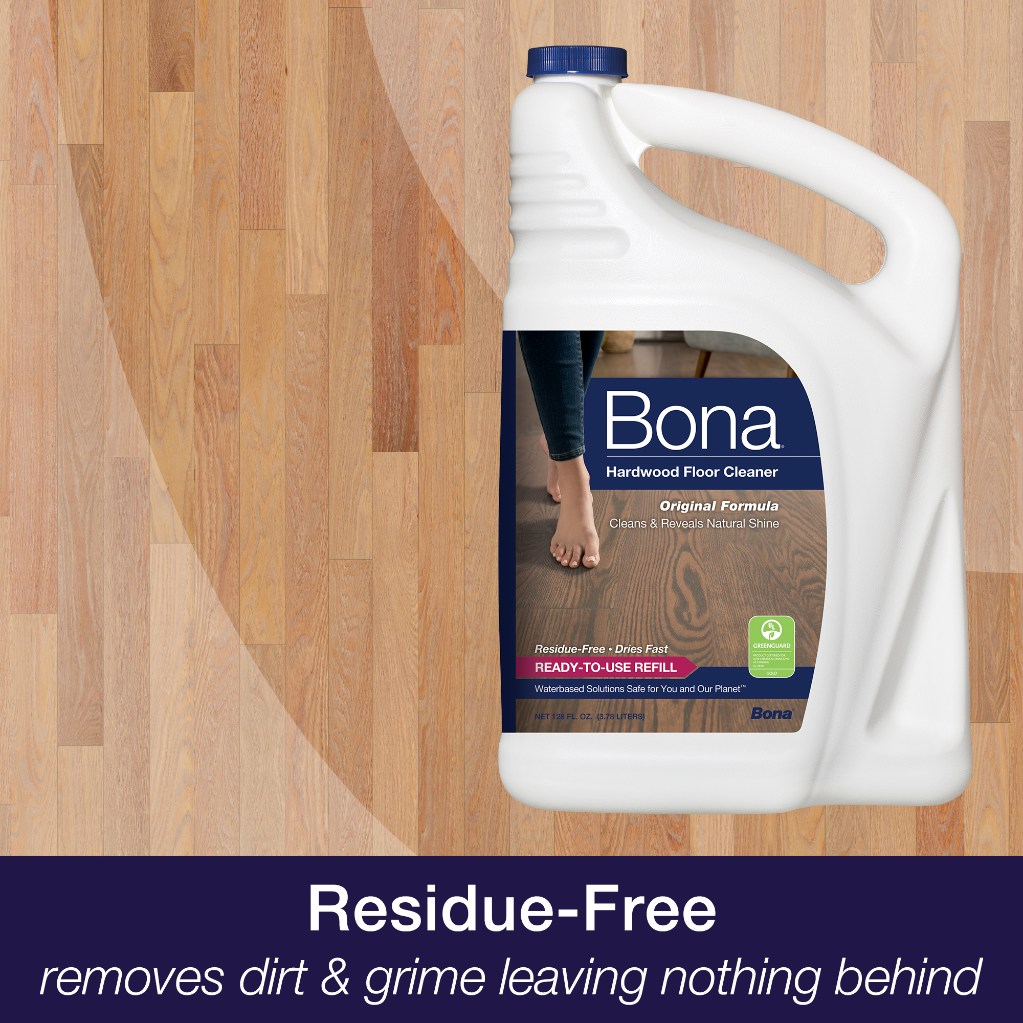 Bona Hardwood Floor Cleaner Refill 96