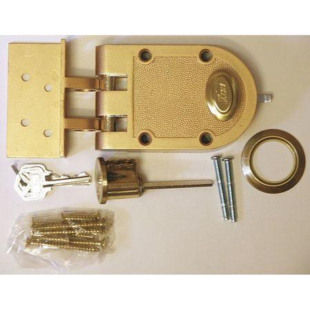 KABA ILCO 530-53-51 Auxiliary Lock,Jimmyproof Deadlock,Bronz