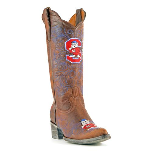 gameday womens 13 quot brass leather s carolina st cowboy