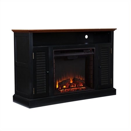 Southern Enterprises Savannah Media Electric Fireplace In