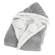 "Chic Home Luxury Wearable Hoodie Blanket, 50"" x 70"""