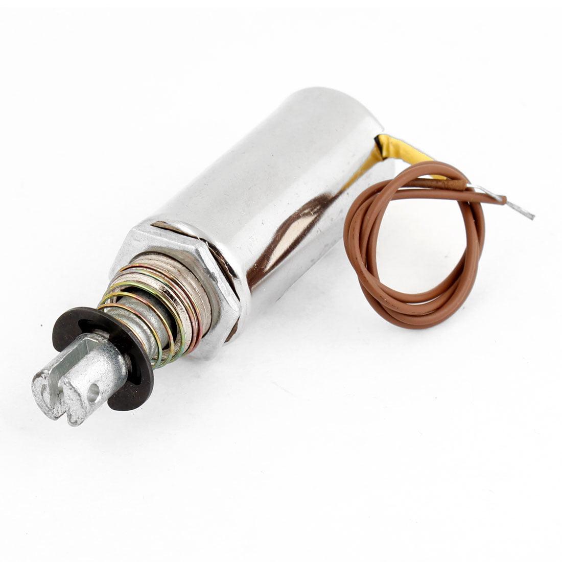 DC 12V 0mm 0,5 Kg tubulaire Type Traction électro-aimant électrique actionneur solénoïde - image 1 de 1