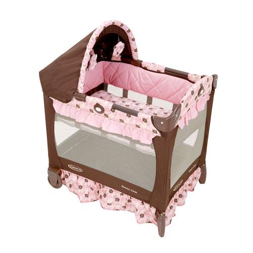 Graco Travel Lite Crib, Betsey