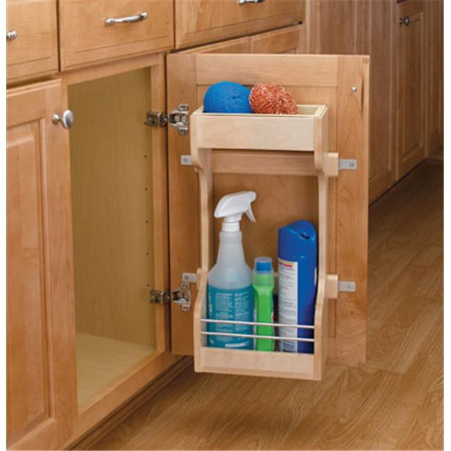 HD RS4SBSU. 15 Rev-A-Shelf Sink Base Door Mount Organizer - 10. 50 Wide
