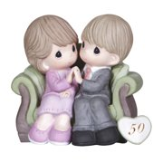 Figurine-50Th Anniversary-Couple On Sofa (Through The Years)