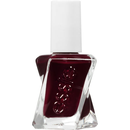 Gel Nails Halloween Ideas (essie gel couture nail polish, model clicks, red nail polish, 0.46 fl.)