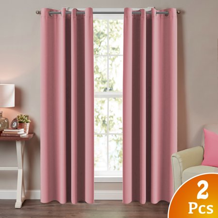 Turquoize Blackout Curtains for Bedroom / Living Room Thermal ...