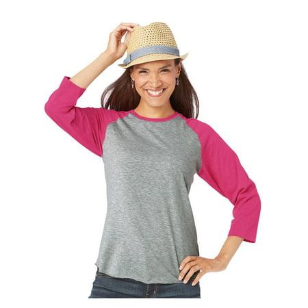 LAT T-Shirts Women's Baseball Fine Jersey Tee