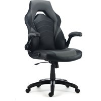 Staples Bonded Leather Racing Gaming Chair (Multiple Colors)