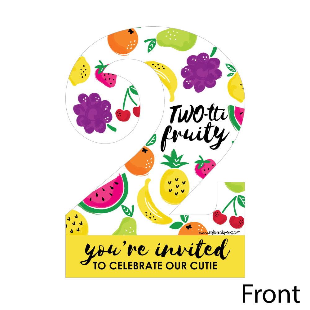 TWO Tti Fruity